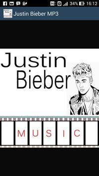 Justin Bieber Hits - Mp3 poster