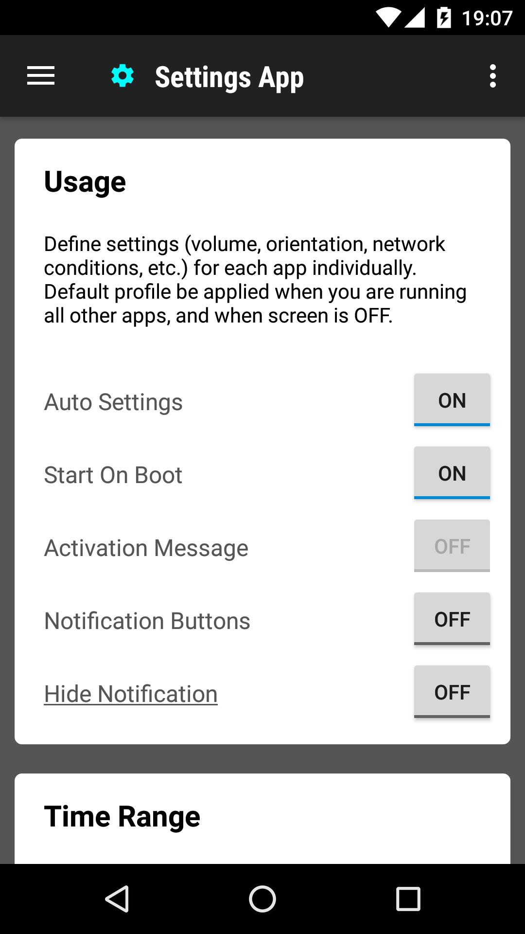 Settings App for Android - APK Download