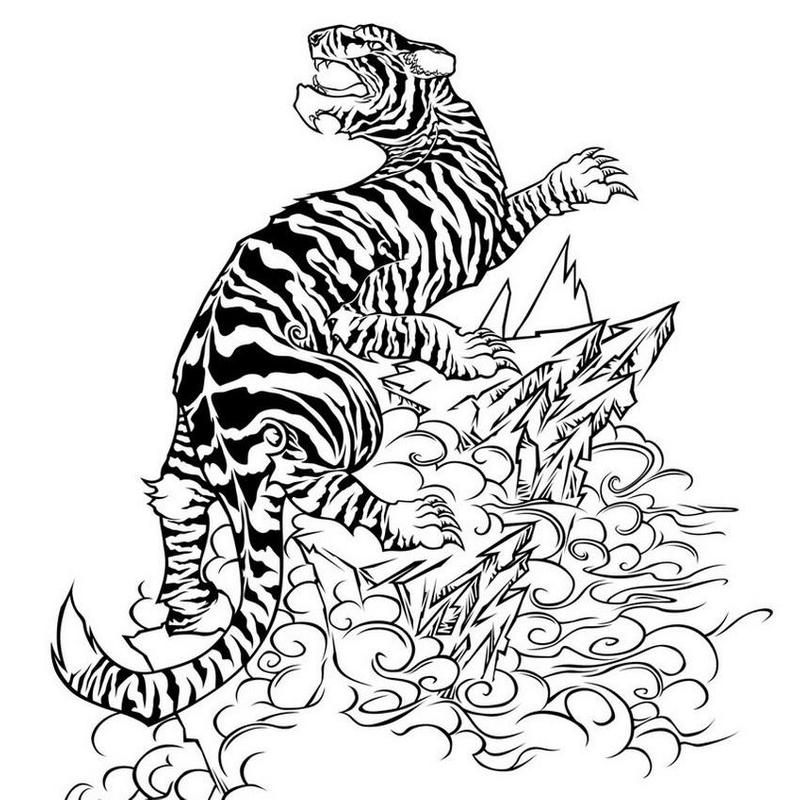 TIGER TATTOO Wallpapers V1 Apk