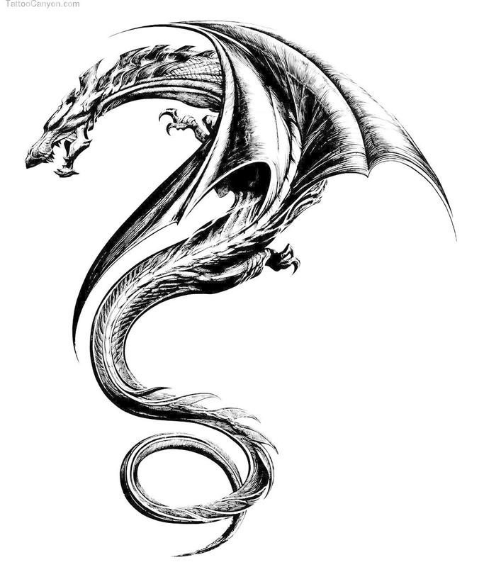 Tattoos Wallpapers Free Download: DRAGON TATTOO Wallpapers V1 For Android