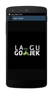 Lagu Gojek poster