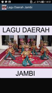 Lagu Jambi poster