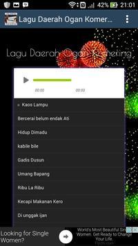 Lagu Komering - Lagu Palembang - Tembang Lawas Mp3 screenshot 1