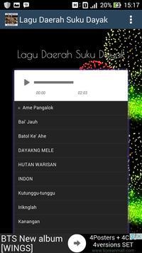 Lagu Dayak - Tembang Lawas Mp3 screenshot 1