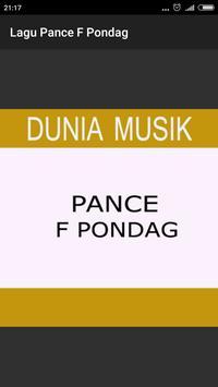 Lagu Kenangan - Pance F Pondag poster