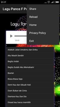 Lagu Kenangan - Pance F Pondag apk screenshot