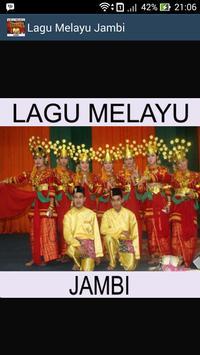 Lagu Jambi - Dangdut Melayu Indonesia Malaysia Mp3 poster