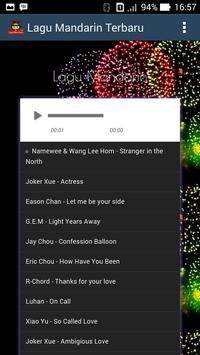 Mandarin Popular Songs 2017 screenshot 2