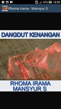 Gudang Lagu Rhoma Irama & Mansyur S -TEMBANG LAWAS poster
