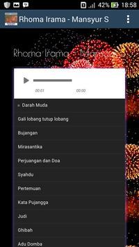 Gudang Lagu Rhoma Irama & Mansyur S -TEMBANG LAWAS screenshot 1