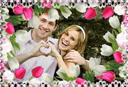Wedding Photo Frame Maker poster