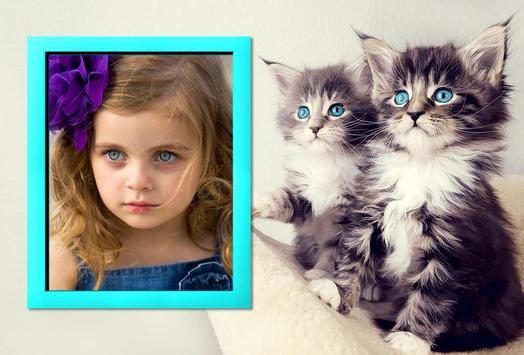 Cat Photo Frame Maker poster