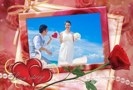 Sweet Love Photo Frame Maker poster