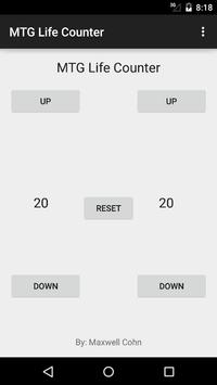 MTG Life Counter screenshot 1