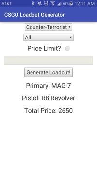 Loadout Generator apk screenshot
