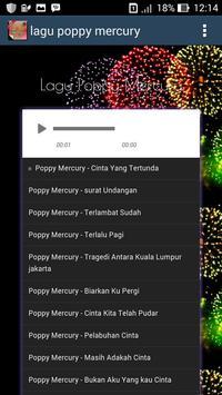 Lagu Poppy Mercury apk screenshot