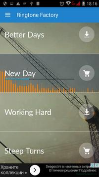 Ringtone Factory apk screenshot