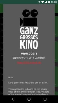 MRMCD 2018 Programm screenshot 7