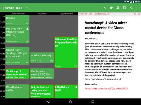 MRMCD 2018 Programm screenshot 9