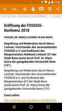 FOSSGIS 2018 Programm poster