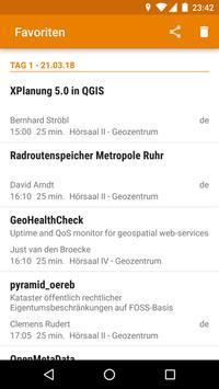 FOSSGIS 2018 Programm apk screenshot