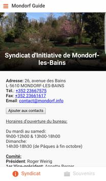 Mondorf Guide poster