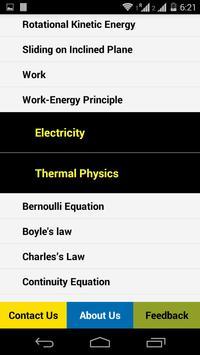 Physics Guide apk screenshot