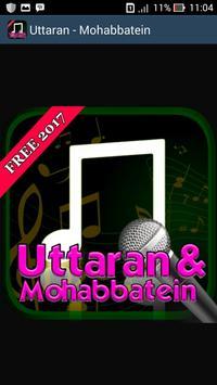 Lagu Mohabbatein - Uttaran poster
