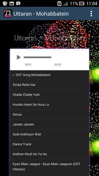 Lagu Mohabbatein - Uttaran screenshot 1