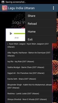 Lagu India Uttaran - MP3 apk screenshot