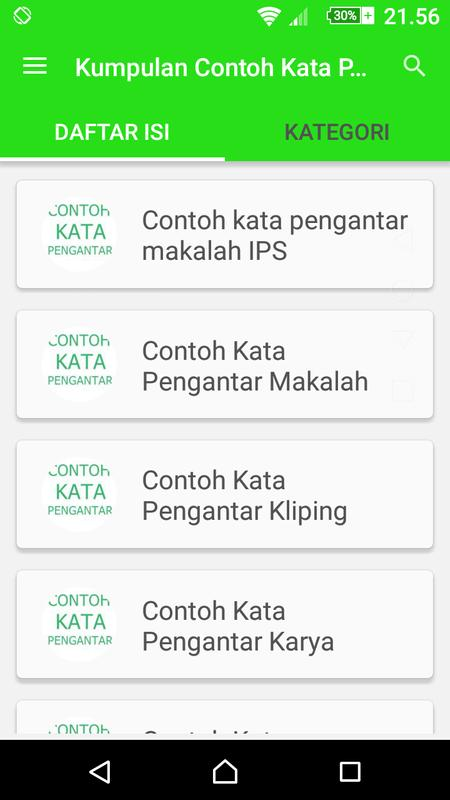 Kumpulan Contoh Kata Pengantar For Android Apk Download