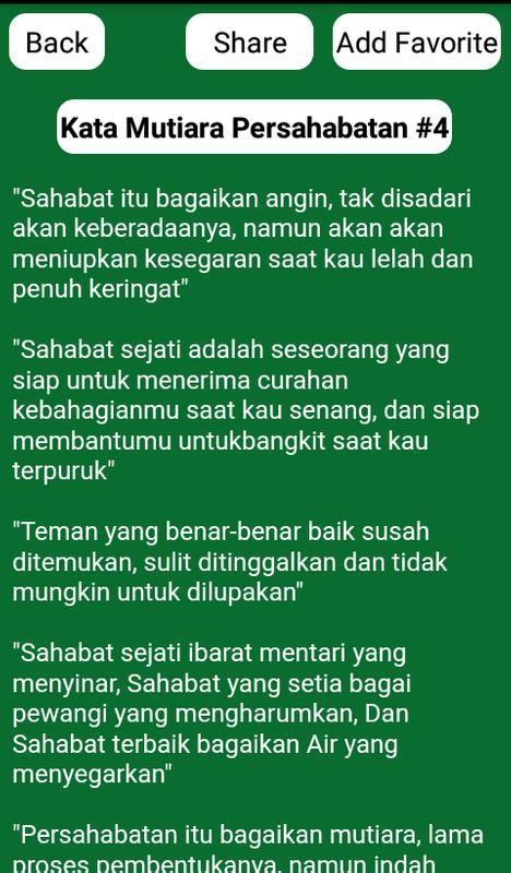 Kata Mutiara Persahabatan For Android Apk Download