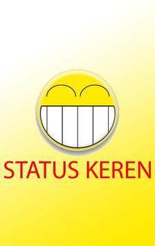 Status Keren poster
