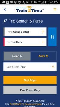Metro-North Train Time apk screenshot