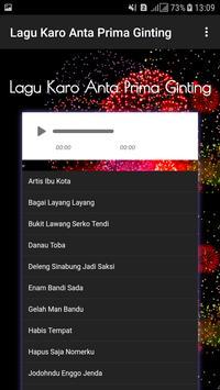 Lagu Karo Anta Prima Ginting screenshot 1
