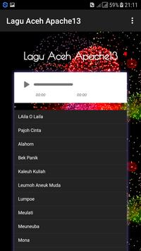 Lagu Aceh Apache 13 screenshot 1