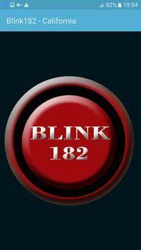 Blink 182 - California poster
