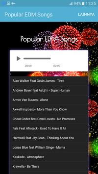 Popular EDM Songs apk screenshot