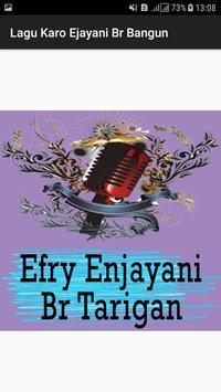 Lagu Karo Efry Ejayani Br Tarigan poster