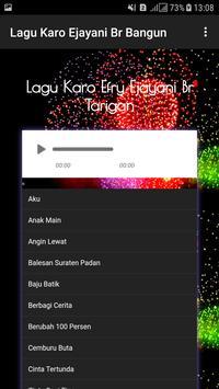 Lagu Karo Efry Ejayani Br Tarigan screenshot 1