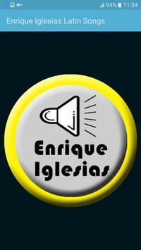 Enrique Iglesias Latin Songs poster