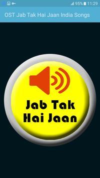 OST Jab Tak Hai Jaan India Songs poster