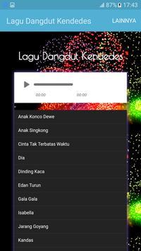 Lagu Dangdut Kendedes apk screenshot