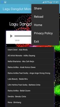 Lagu Dangdut Monata apk screenshot