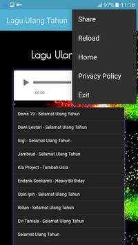 Lagu Ulang Tahun apk screenshot