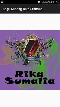 Lagu Minang Rika Sumalia poster