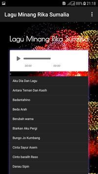 Lagu Minang Rika Sumalia screenshot 1