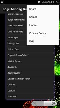 Lagu Minang Rika Sumalia screenshot 2
