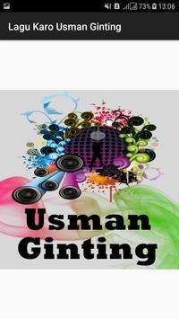 Lagu Karo Usman Ginting poster