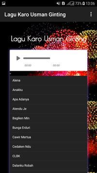 Lagu Karo Usman Ginting screenshot 1